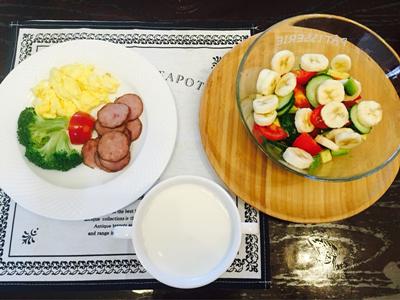 细心做的早午餐