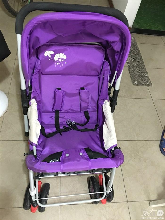 9.5成新婴儿手推车