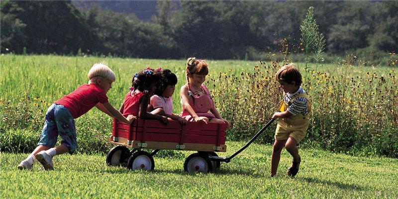 带孩子回农村过暑假,寻找那儿时的味道