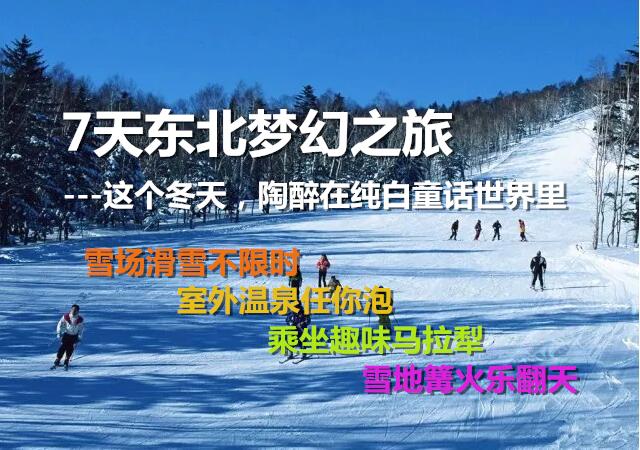 【东北梦幻之旅】这个冬天,一起去陶醉在纯白的童话世界
