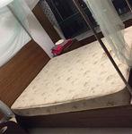 低价转让1米5全实木床,仅限周六前