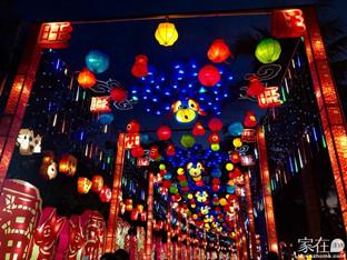 逛深圳欢乐灯会