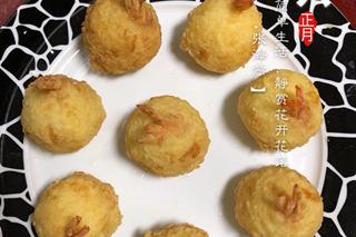 儿子教我做的美食—黄金虾球