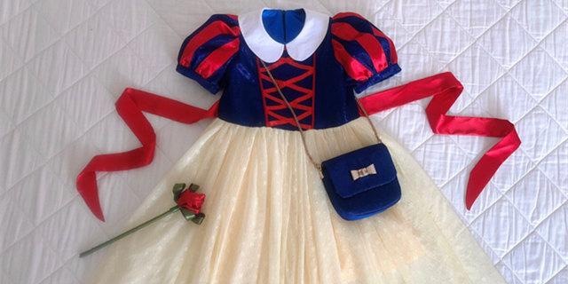 送给女儿的白雪公主三件套